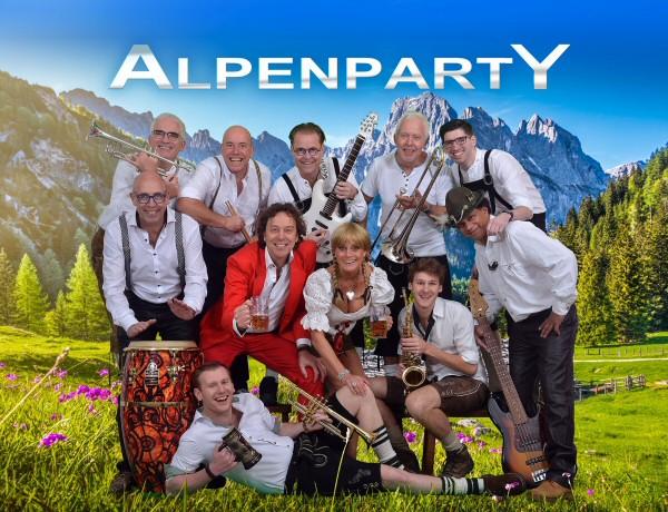 Spitzenband AlpenpartY